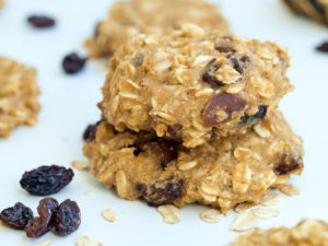 Applesauce Breakfast Cookies