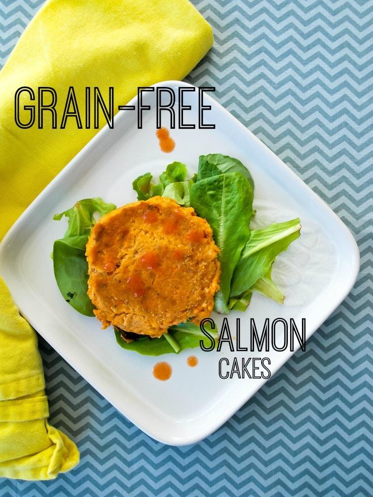 grain-free salmon cakes or salmon nuggets