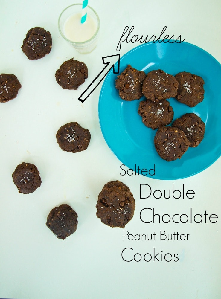 Brown Butter Salted Double Chocolate Chunk Cookies Recipe ...