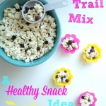 Popcorn Trail Mix. A real food, healthy snack idea