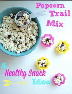 Popcorn Trail Mix (a healthy sleepover snack idea)