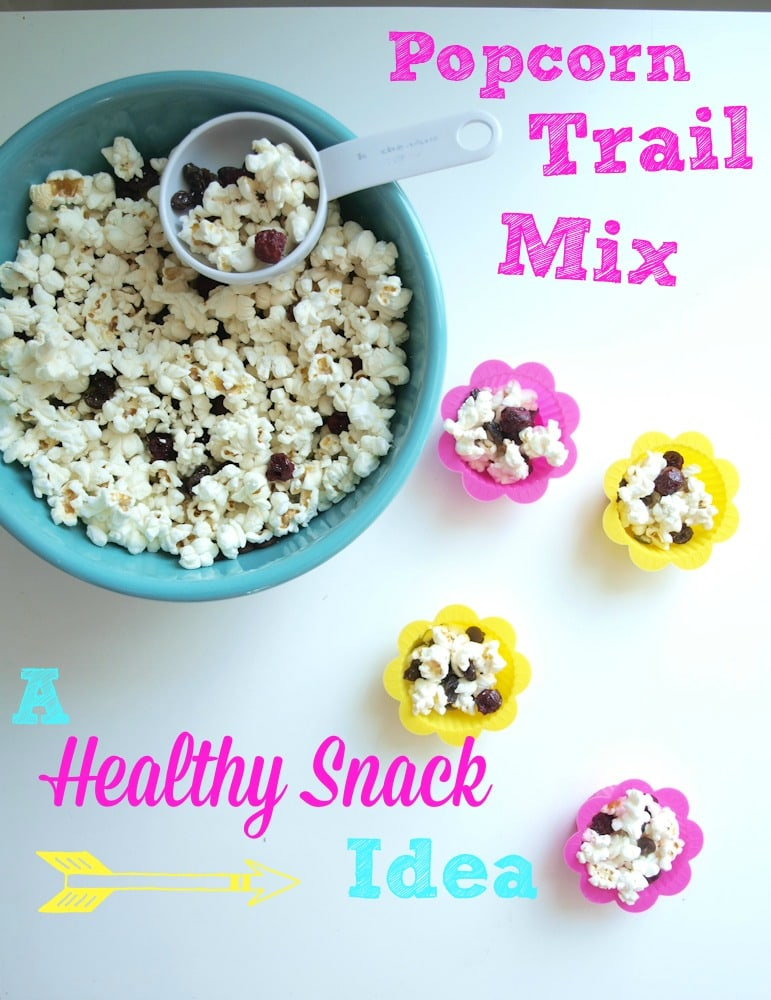 Popcorn Trail Mix (a healthy sleepover snack idea) - Happy Healthy ...