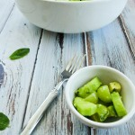 Cucumber, Green Grape, and Avocado Salad