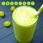 Sweet and sour green smoothie || Happy Healthy Mama
