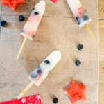 Easy Lemonade Fruit Posicles--perfect for the 4th of July or any summer day!