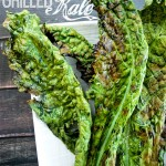 If you love roasted kale chips, grilled kale is for you! Crispy and delicious-- even my kids eat it!