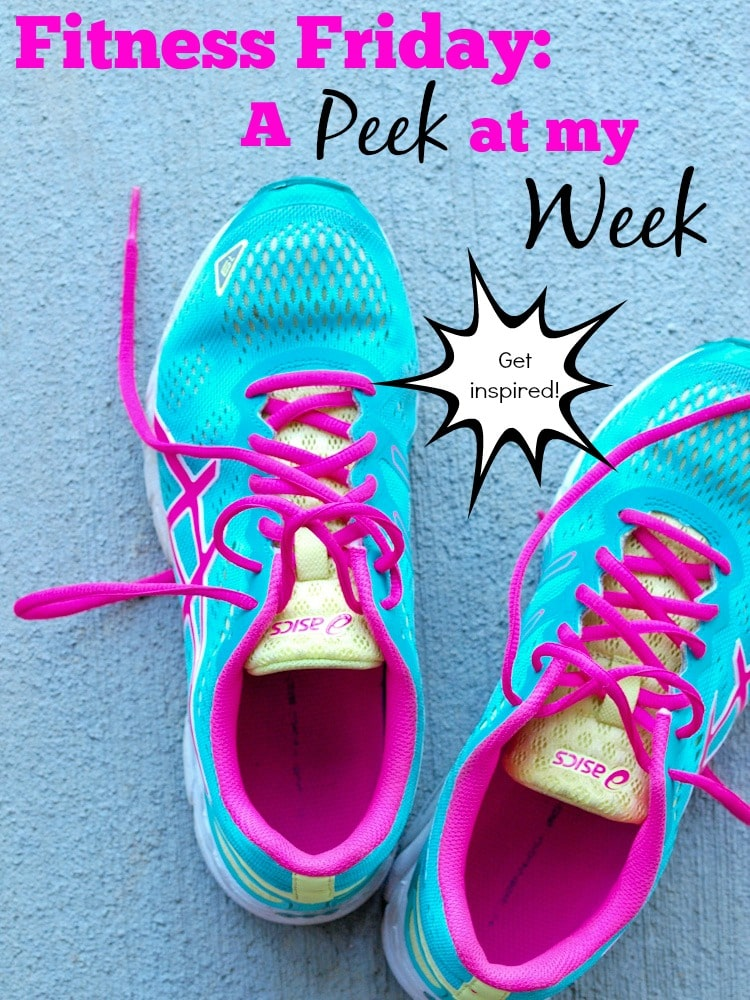 Fitness Friday:  A peek at my Week.  Come get inspired! || Happy Healthy Mama