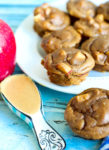 Apple Peanut Butter Blender Muffin Recipe healthy gluten-free breakfast