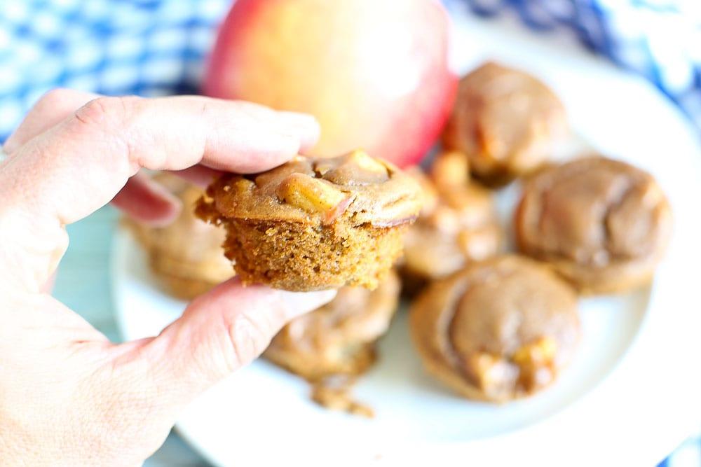 Apple Peanut Butter Blender Muffin Recipe