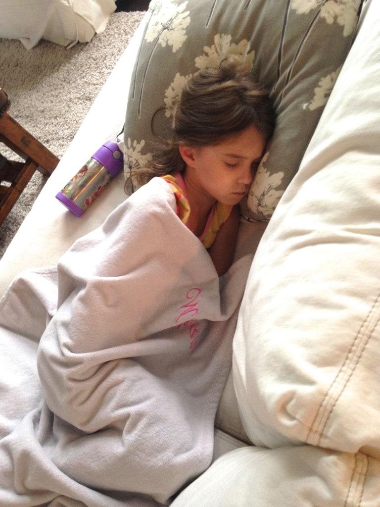 Poor Sick Meghan. :(