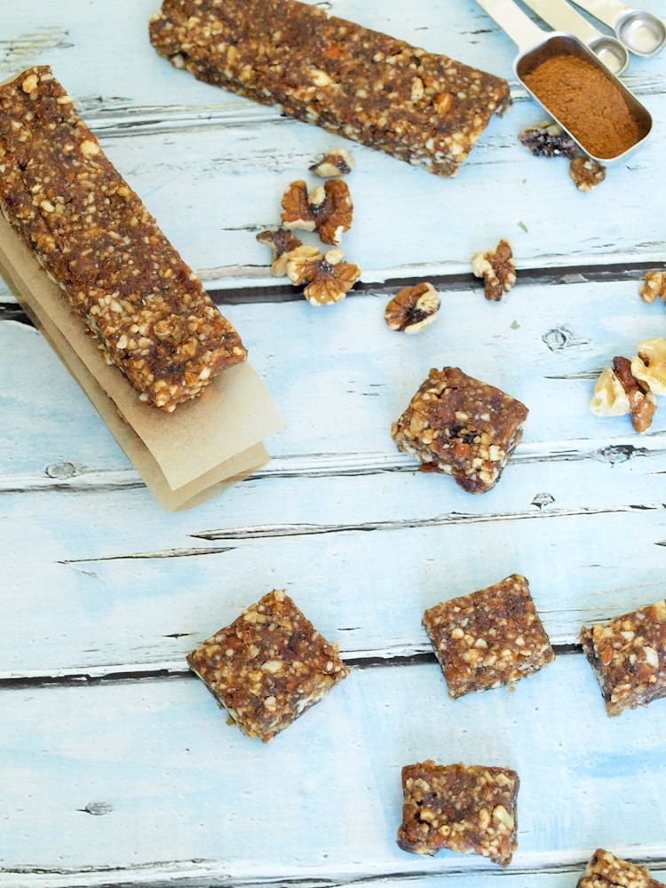 Pumpkin Spice Energy Bars