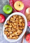 Simple Baked Apples Recipe whole apples and baked dish