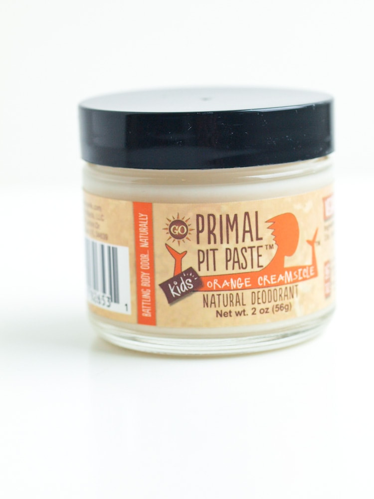 Primal Pit Paste-the BEST natural deodorant ever! Check out more natural products to detox your life on Happy Healthy Mama