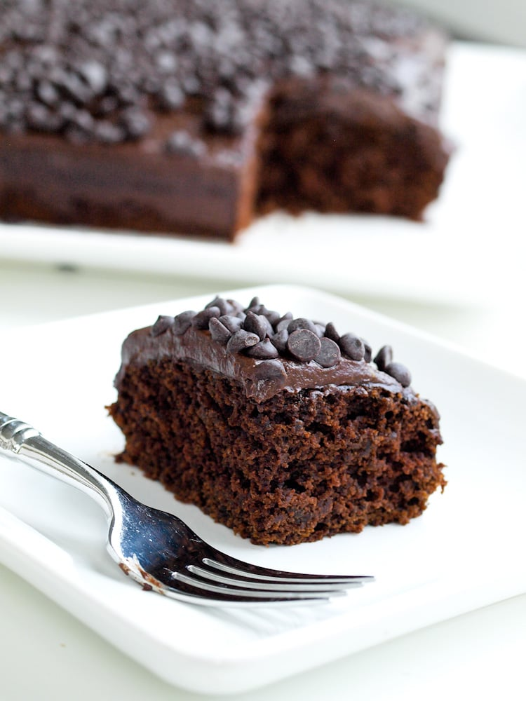 Superfoods Chocolate Cake. Why not have your cake and eat your vegetables at the same time. This beet chocolate cake with avocado chocolate frosting is moist, decadent, yet full of nutrients!