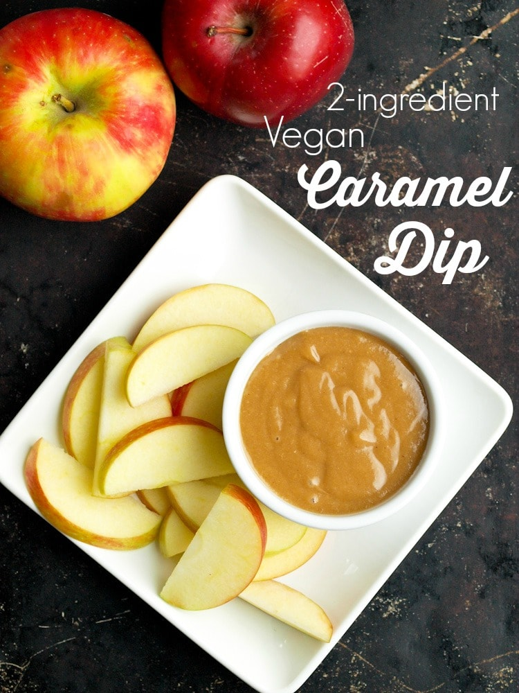 "2-ingredient Vegan ""Caramel"" Dip"