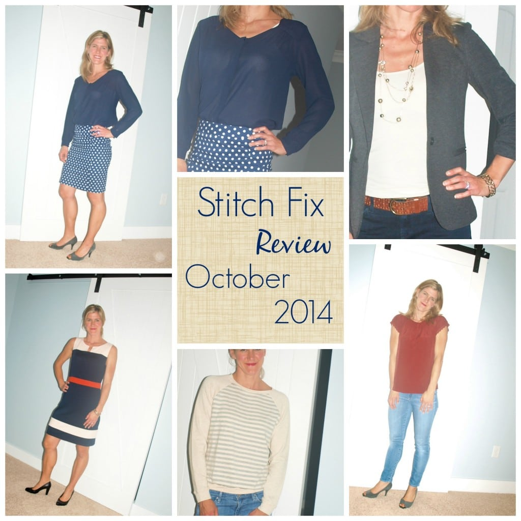 Stitch Fix #5: October 2014 - Happy Healthy Mama