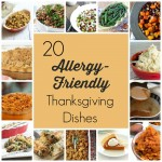 The Ultimate Allergy-Friendly Thanksgiving Recipe Round UP! Have a special diet need for Thanksgiving? Check out this round up of Thanksgiving side dishes that includes vegan, dairy-free, gluten-free, and nut-free ideas!