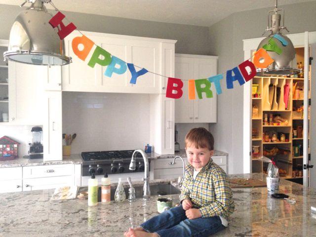 Luke is 3 Years Old!