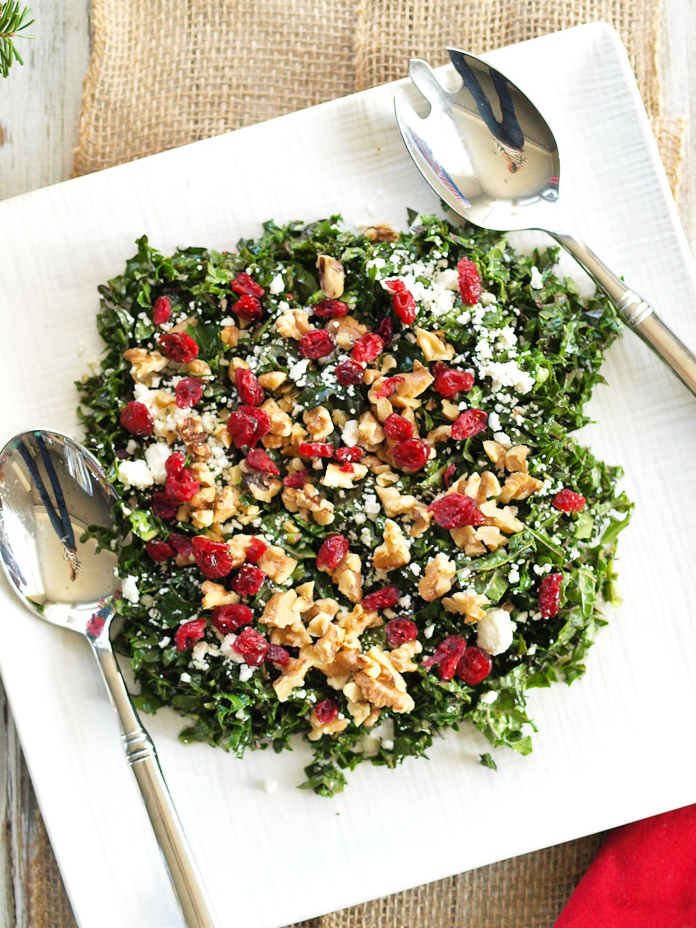 Baby kale salad recipes easy