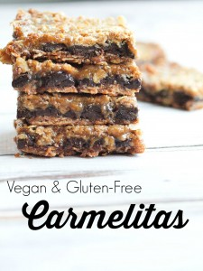 Vegan and Gluten-Free Carmelitas