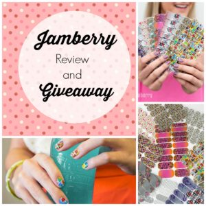 Jamberry review and giveaway