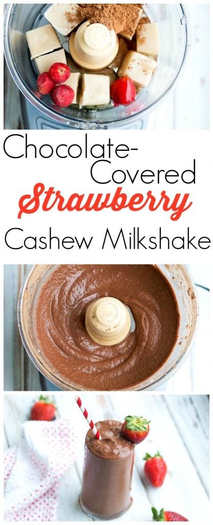 Strawberry Cashew Milk Shake Recipes — Dishmaps