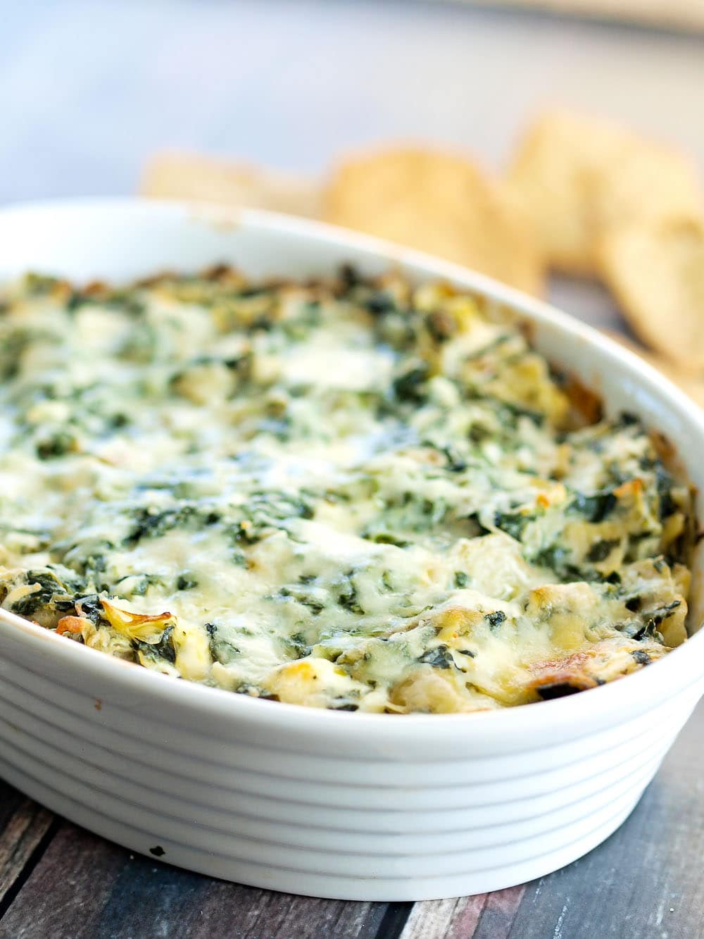 ... Skinny Spinach Artichoke Dip is a perfect recipe for you. It'll be a