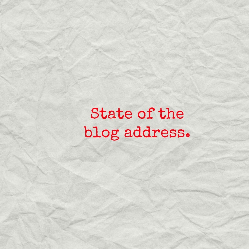 State of the Blog Address by Happy Healthy Mama