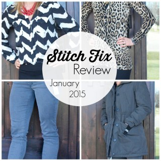 Stitch Fix Review: January 2015