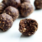 These Chocolate Bliss Balls are made with just 4 ingredients. No baking--they are ready in minutes! A great healthy snack idea.