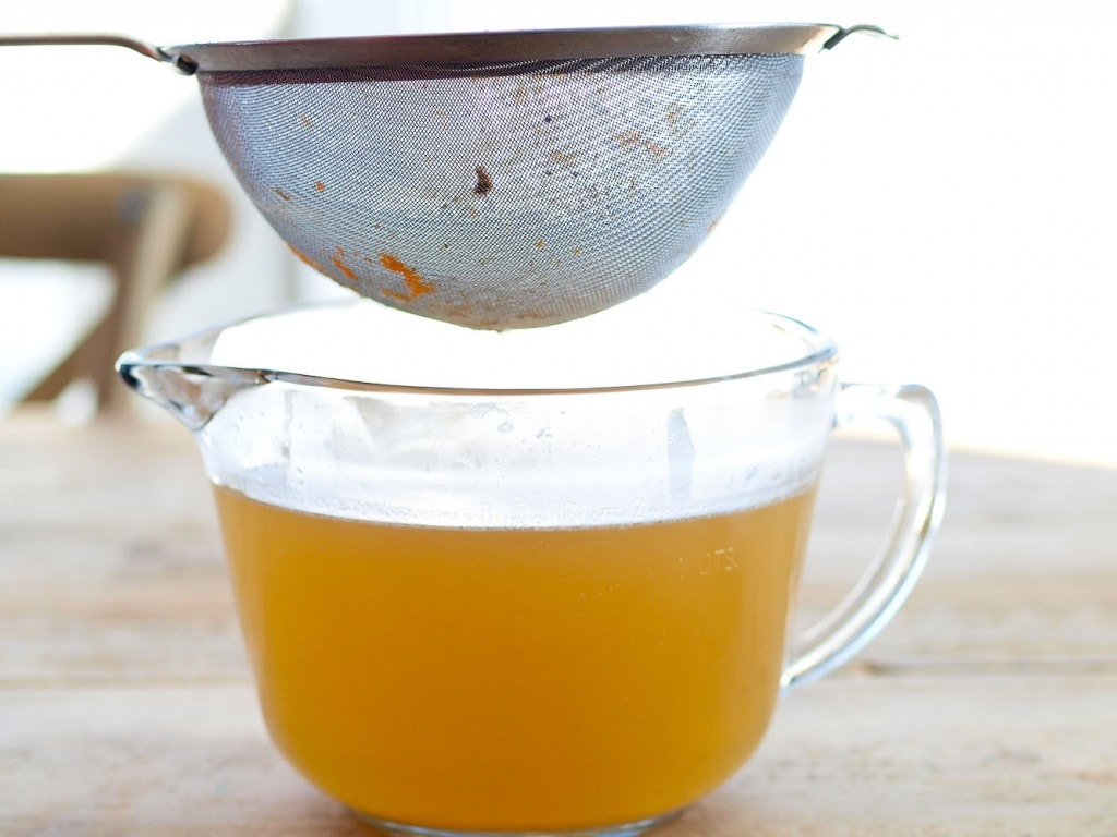 Homemade chicken stock is full of nutrients and can save you money! Find out how to easily make it in your crock pot!