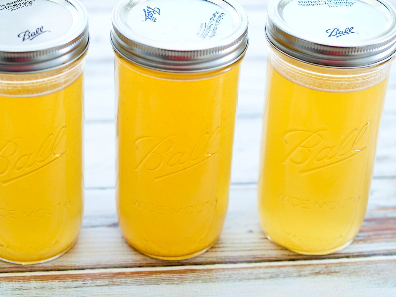 How to Make Chicken Stock in the Crock Pot - Happy Healthy ...