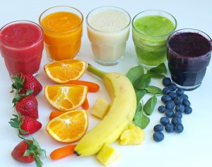 Rainbow Smoothies:  A Tasting Activity for Kids