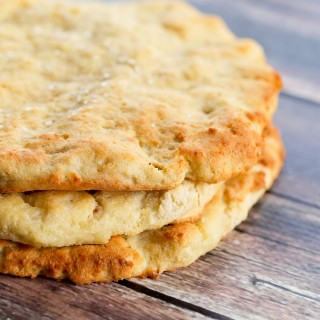 Easy Homemade Flatbread {Gluten-free and Dairy-free}
