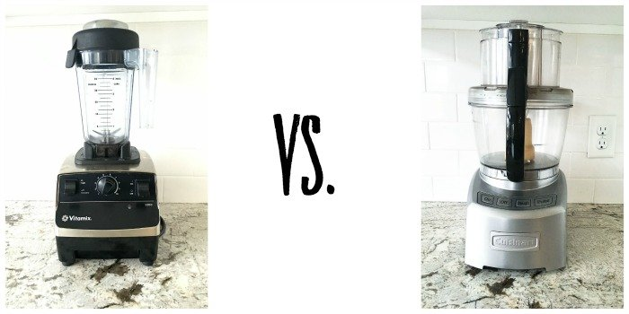 Vitamix Blender vs Cuisinart Food Processor