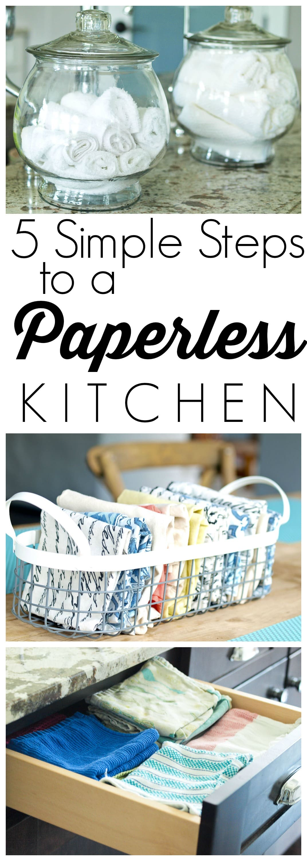5 Simple Tips to Transition to a Paperless Kitchen - Happy Healthy Mama