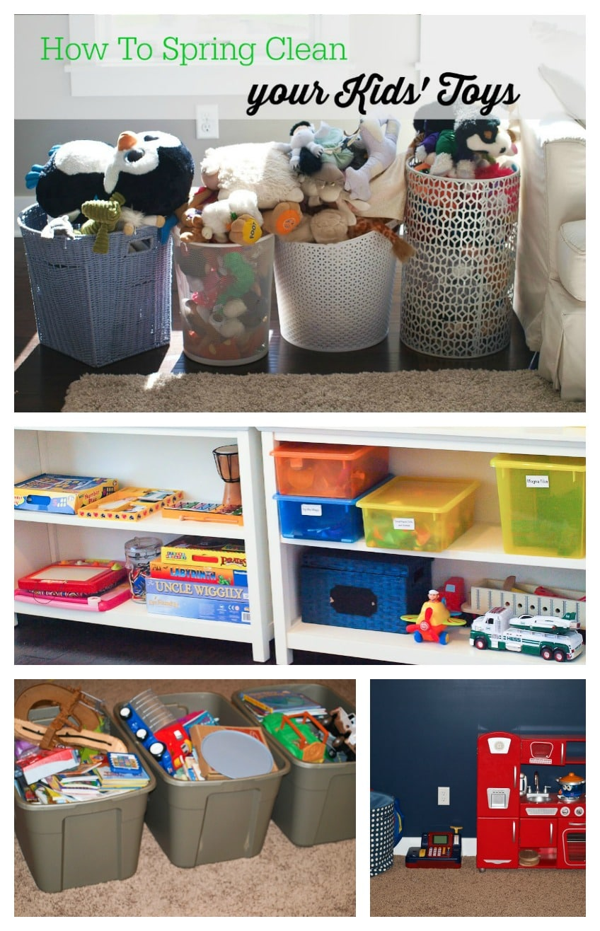 Spring Cleaning Challenge: The Kids' Toys and Books ...