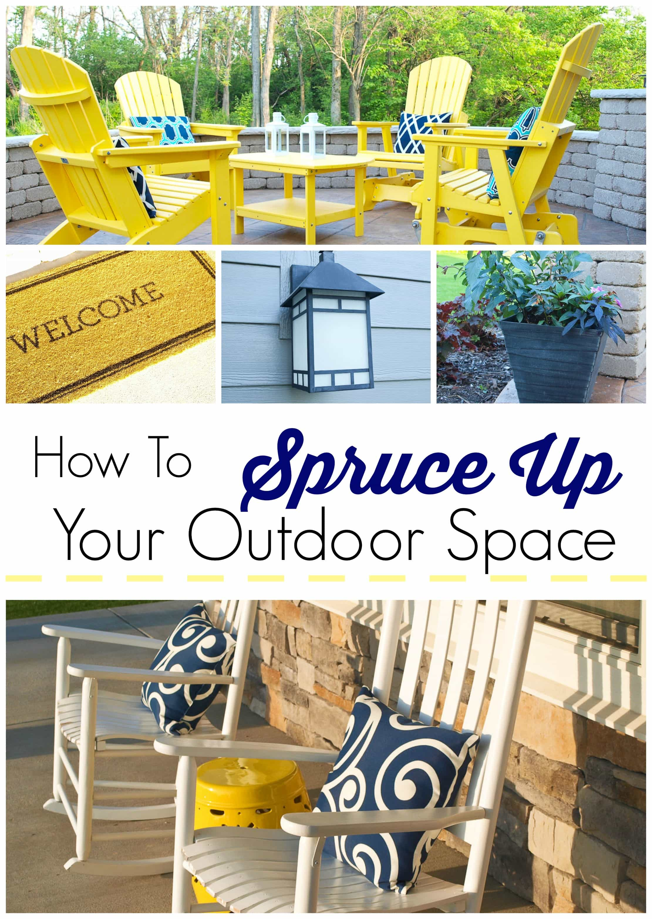 Spring Cleaning Challenge How To Spruce Up Your Outdoor Space