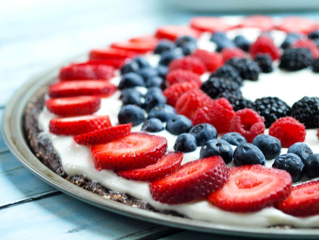 easy fruit pizza healthy dessert ideas with fruit