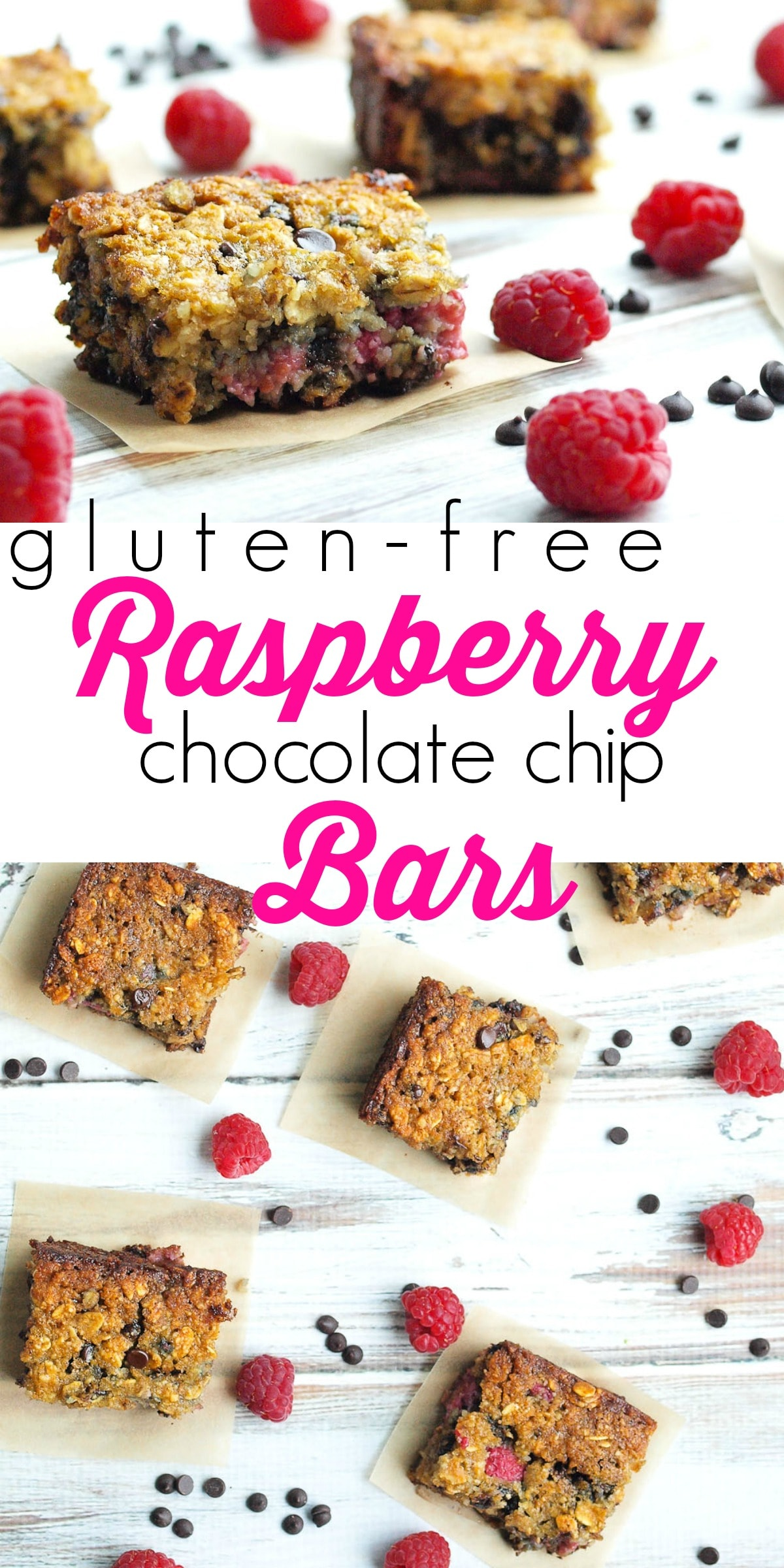 Gluten-free and dairy-free Raspberry Chocolate Chip Bars. These ...