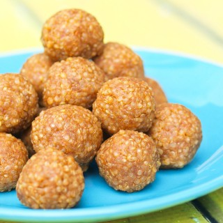 Look Again:  Quinoa Peanut Butter Snack Balls