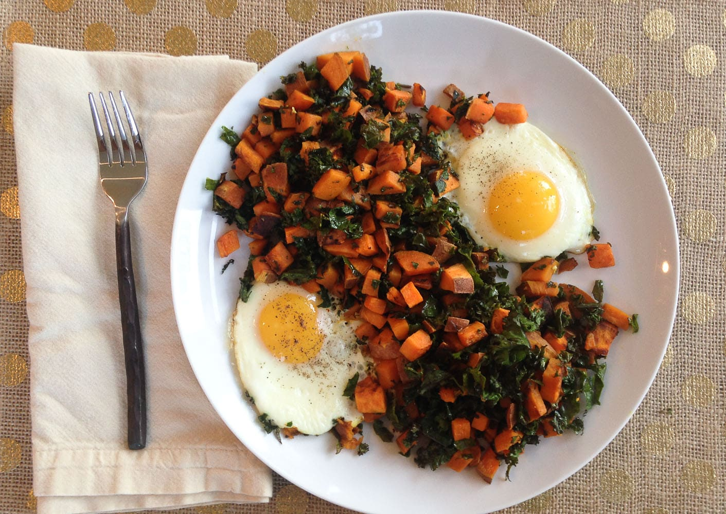 What I Ate Wednesday (& an Update on Weight and Calorie Counting)