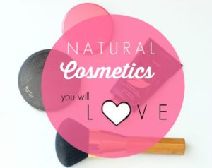 Natural Products I'm Loving Now:  Cosmetics Edition