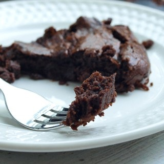 Chocolate Fudge Banana Skillet Cake (Vegan and Paleo)