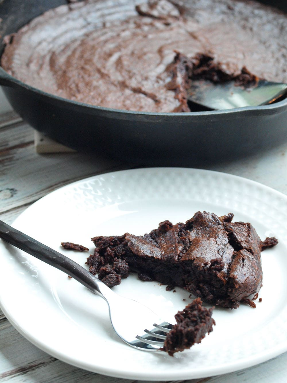 Chocolate Fudge Banana Skillet Cake Recipe You Can Make This Healthy From