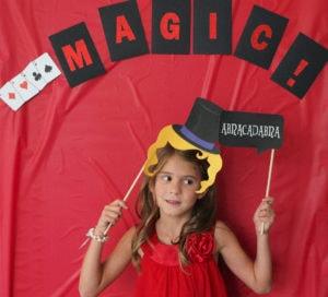Meghan's 7th Birthday (a magic birthday party)