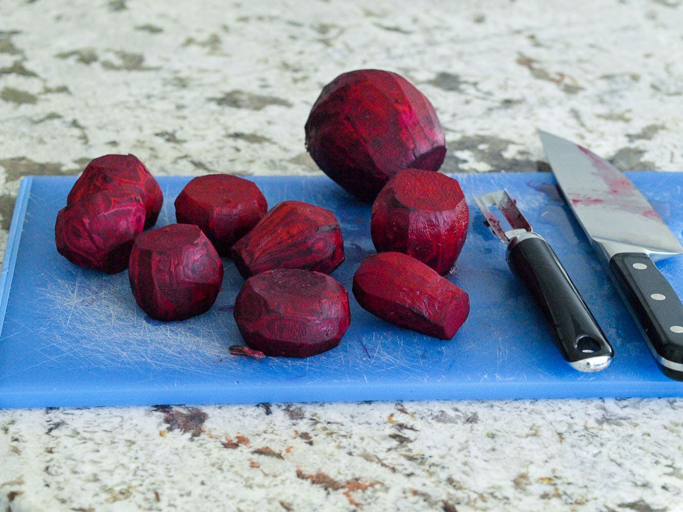 Coconut Oil Roasted Beets AKA Vegetable Candy Happy Healthy Mama