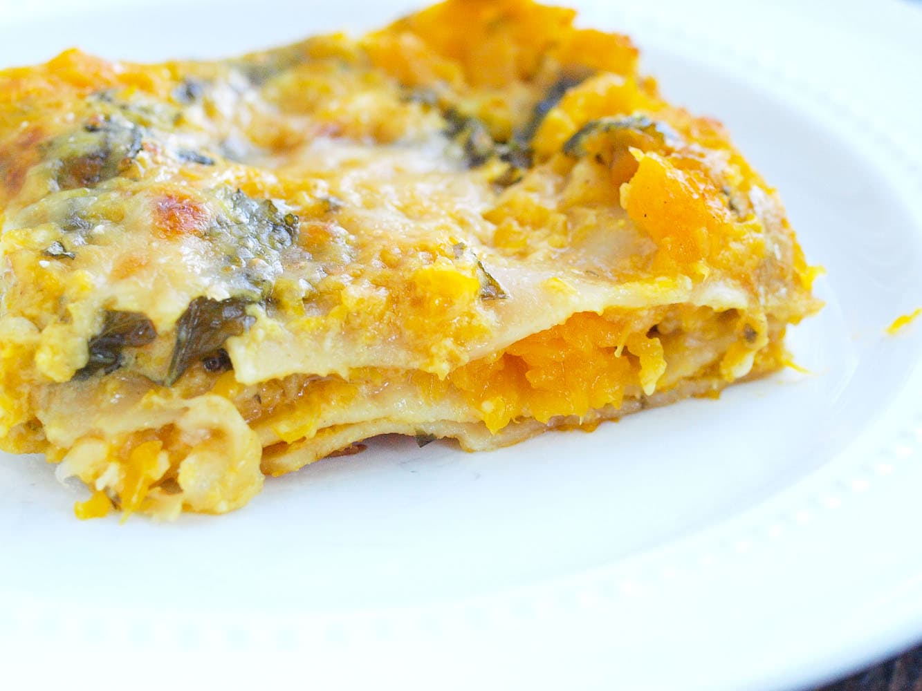 ... show stopper? This Butternut Squash and Kale Lasagna is your ticket