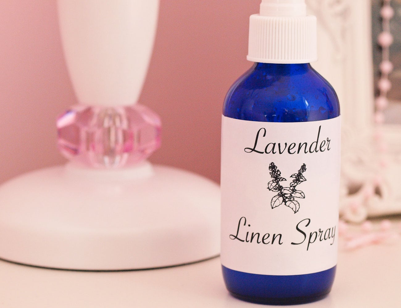 DIY Lavender Linen Spray.  Make your own lavender linen spray for much cheaper than you can buy it, plus you control the ingredients! We spray this on my kids' pillows every night and it helps them calm down at bedtime and sleep restfully!  My husband and I use it, too.
