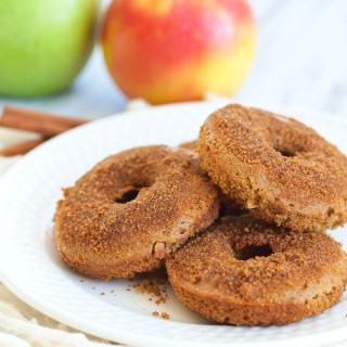 Spiced Apple Cider Baked Donuts